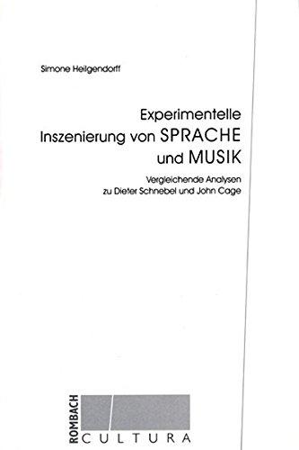 Experimentelle Inszenierung von Sprache und Musik: Simone Heilgendorff