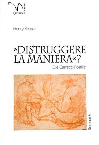 9783793093077: ' Distruggere la maniera'? Die Carracci- Postille.