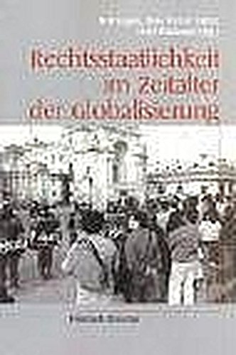9783793093787: Rechtsstaatlichkeit im Zeitalter der Globalisierung