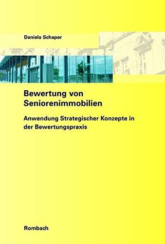 Bewertung von Seniorenimmobilien: Daniela Schaper