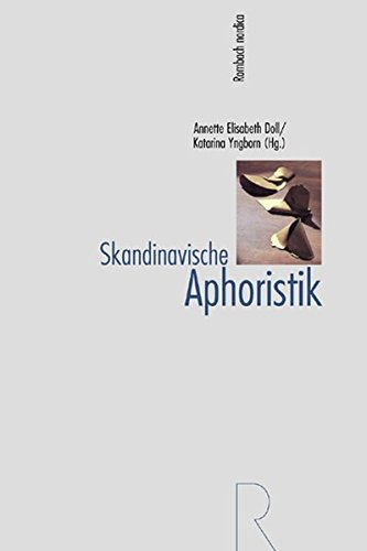 Skandinavische Aphoristik: Anette Elisabeth Doll