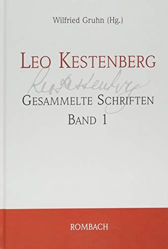 9783793095750: Leo Kestenberg. Gesammelte Schriften Band 1: Die Hauptschriften