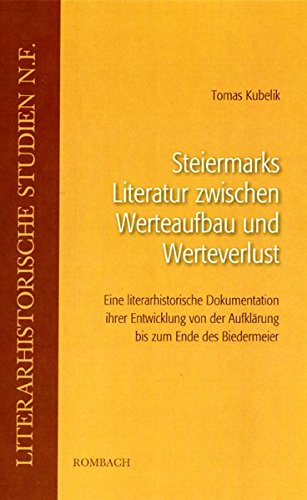 Steiermarks Literatur zwischen Werteaufbau und Werteverlust: Tomas Kubelik
