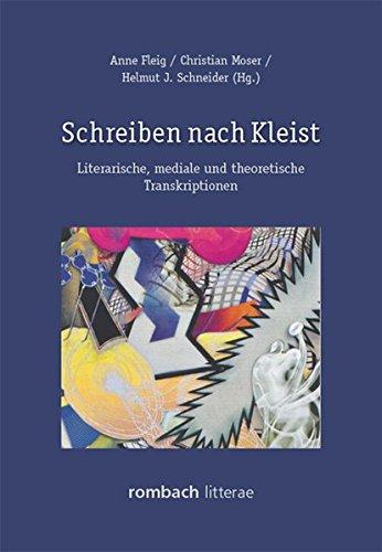 Schreiben nach Kleist: Anne Fleig