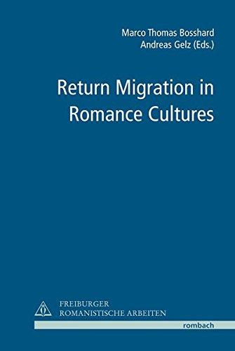 Return Migration in Romance Cultures: Marco Thomas Bosshard