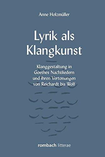 Lyrik als Klangkunst: Holzm?ller, Anne