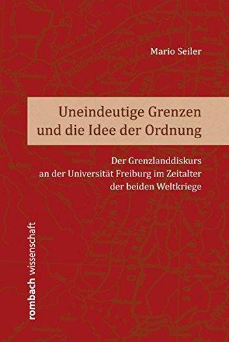 Uneindeutige Grenzen und die Idee der Ordnung: Mario Seiler