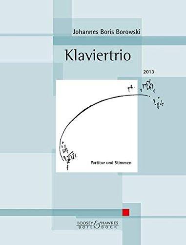 9783793140757: Klaviertrio: Violine, Violoncello und Klavier. Partitur und Stimmen.