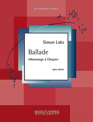 """Ballade """"Hommage à Chopin"""". Klavier."""