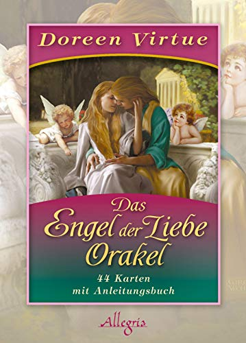 9783793422396: Das Engel der Liebe-Orakel: Kartendeck