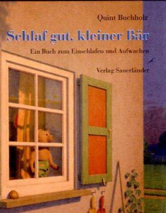 9783794148622: Schlaf gut, kleiner Bär. Ein Buch zum Einschlafen und Aufwachen. ( Ab 4 J.).