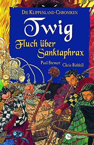 Twig. Fluch über Sanktaphrax. ( Ab 10 J.). (3794160037) by Paul Stewart; Chris Riddell