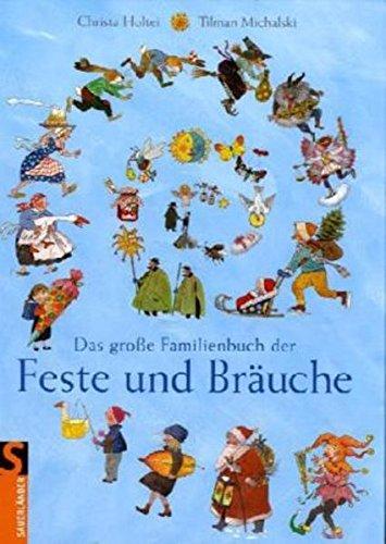 9783794173082: Das große Familienbuch der Feste und Bräuche