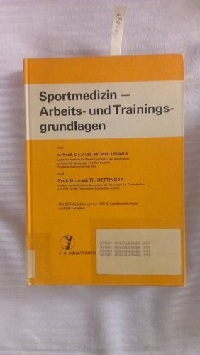 9783794504305: Sportmedizin, Arbeits- und Trainingsgrundlagen (German Edition)