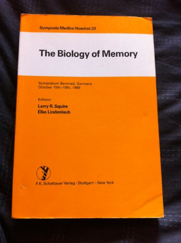 9783794513871: The Biology of Memory: Symposia Medica Hoechst Part 23