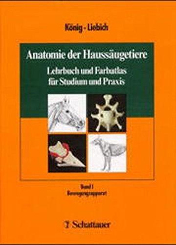9783794518630: Anatomie der Haussäugetiere