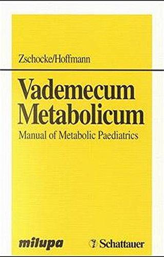 9783794520398: Vademecum Metabolicum Manual of Metabolic Paediatrics