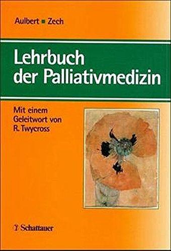 9783794520787: Lehrbuch der Palliativmedizin.