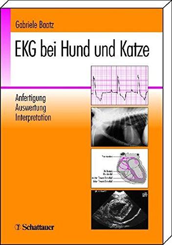 9783794521357: EKG bei Hund und Katze: Anfertigung, Auswertung, Interpretation