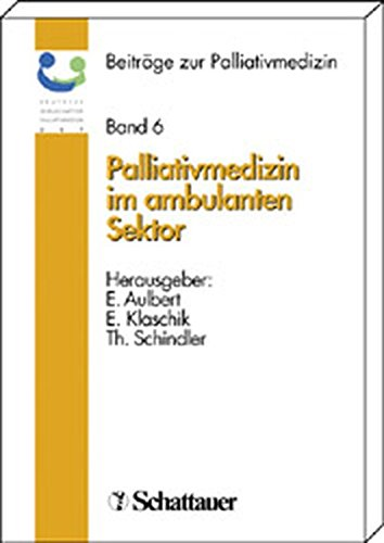 9783794522972: Palliativmedizin im ambulanten Sektor.
