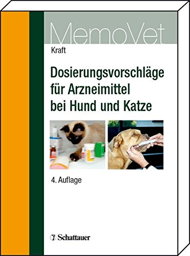 9783794523481: Dosierungsvorschläge für Arzneimittel bei Hund und