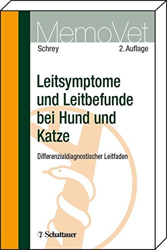 9783794523849: Leitsymptome und Leitbefunde bei Hund und Katze