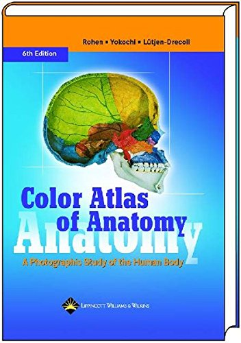 9783794524204: Color Atlas of Anatomy: A Photographic Study of the Human Body, Sixth Edition