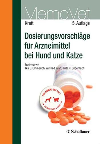 9783794526390: Dosierungsvorschläge für Arzneimittel bei Hund und Katze