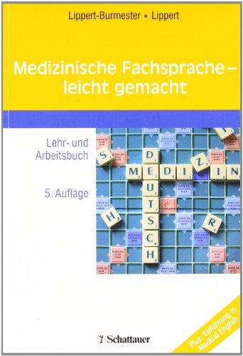 9783794526444: Medizinische Fachsprache - leicht gemacht