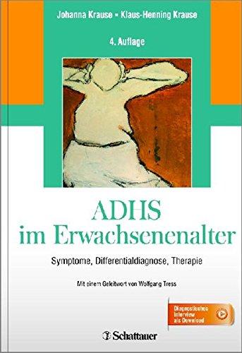 9783794527823: ADHS im Erwachsenenalter: Symptome, Differentialdiagnose, Therapie