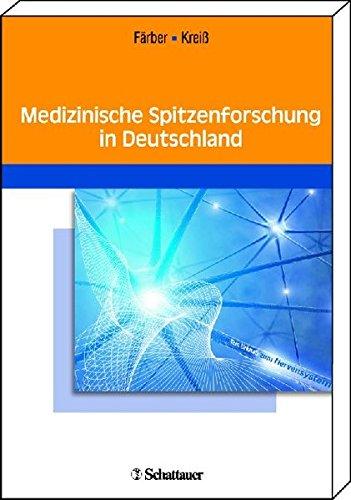 9783794528189: Medizinische Spitzenforschung in Deutschland: Jubiläumssymposium 2009 der Novartis-Stiftung für therapeutische Forschung