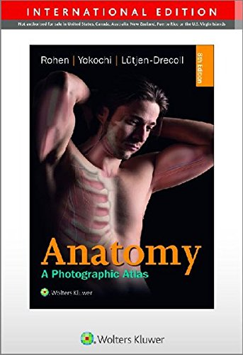 9783794529827: Color Atlas of Anatomy - international edition: A Photographic Study of the Human Body