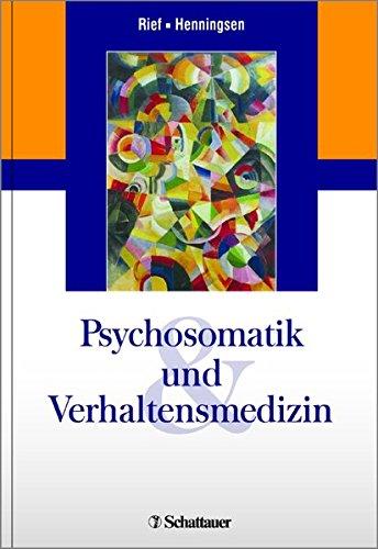 Psychosomatik und Verhaltensmedizin: Winfried Rief