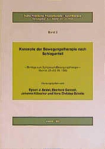 9783794542017: Konzepte der Bewegungstherapie nach Schlaganfall: Beiträge zum Symposion Bewegungstherapie, Weimar, 22.-23.9.1995