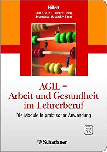 9783794552016: AGIL - Arbeit und Gesundheit im Lehrerberuf