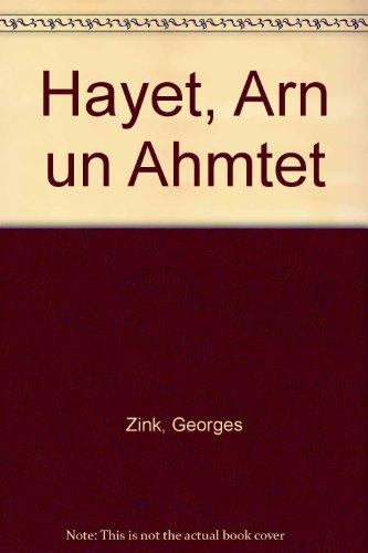 9783794602766: Haiet, Arn un Ahmtet.