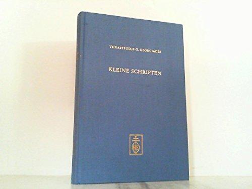 9783795202088: Kleine Schriften (Münchner Veröffentlichungen zur Musikgeschichte) (German Edition)
