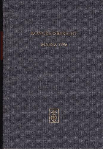9783795209421: Kongressbericht Mainz 1996 (Alta musica)