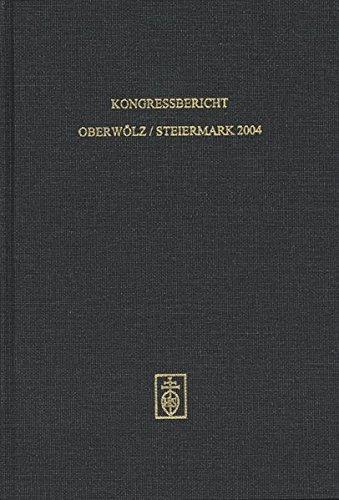 Kongressbericht Oberwolz/Steiermark 2004: Habla, Bernhard