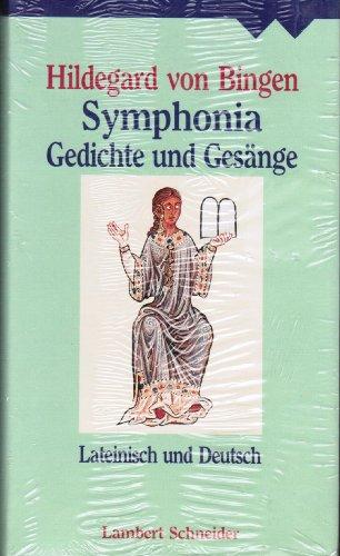 9783795309305: Hildegard von Bingen - Symphonia. Gedichte und Gesänge; Lateinisch und Deutsch