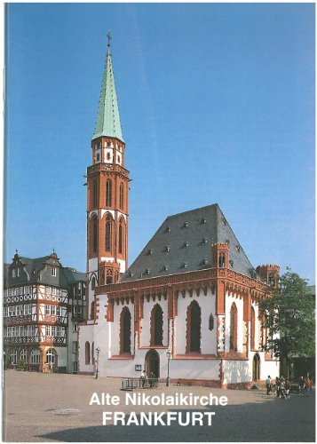 Frankfurt / Main: Alte Nikolaikirche (Kleine Kunstfuhrer): Becher, Werner