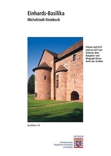 9783795463724: Michelstadt-steinbach: Einhards-basilika