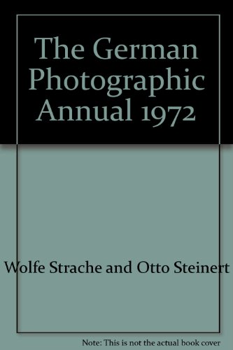 The German Photographic Annual 1972: Strache, Wolf and