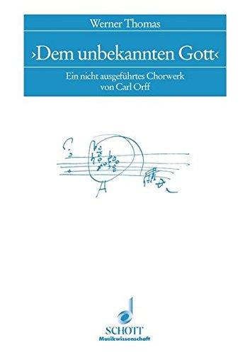 Dem unbekannten Gott: Werner Thomas