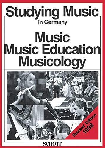 9783795703615: Studying Music in Germany Livre Sur la Musique