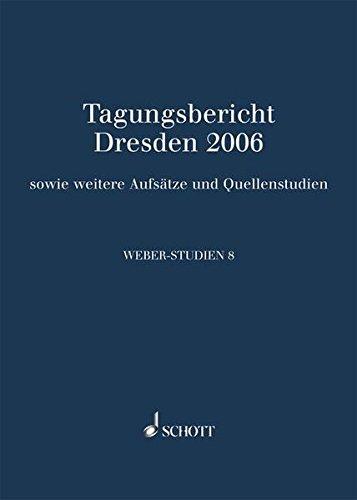 Weber-Studien 8: Frank Ziegler