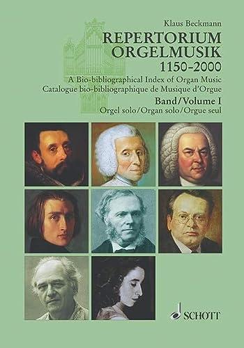 9783795704919: Repertorium Orgelmusik 1150-2000 Band 1 Und 2: Komponisten - Werke - Editionen. 57 Länder - Eine Auswahl. Band 1 und 2.