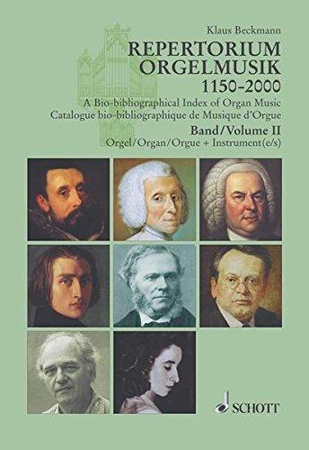 Repertorium Orgelmusik 1150-2000, Tl.2, Orgel plus Instrument(e): Klaus Beckmann