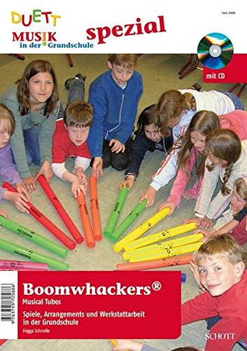 9783795705886: Boomwhackers Musical Tubes