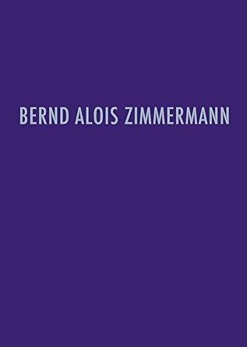 Bernd Alois Zimmermann Werkverzeichnis: Heribert Henrich